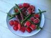 Vandmelon, Asparges og Parma Skinke
