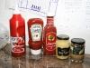Ketchup og sennep