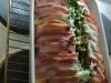 Farsbrød med bacon og pesto